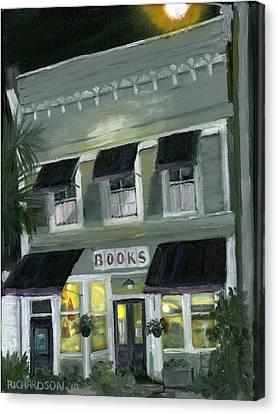 Downtown Books 11 Canvas Print by Susan Richardson