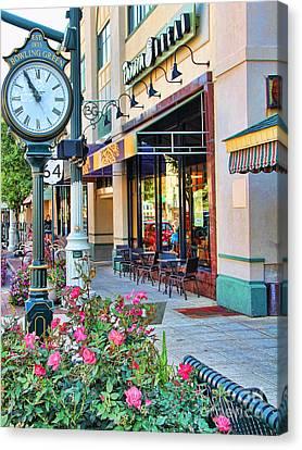 Downtown Bowling Green Canvas Print