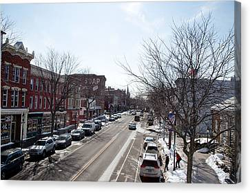 Canvas Print featuring the photograph Downtown Brockport IIi by Courtney Webster