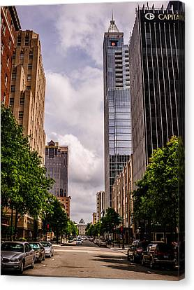 D700 Canvas Print - Downtown by Chris Modlin