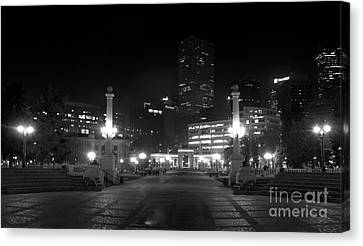 Downtown Denver Canvas Print by Steven Parker