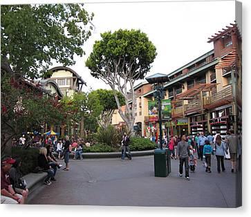 Downtown Disney Anaheim - 12128 Canvas Print by DC Photographer