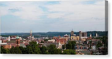 Downtown Dubuque Canvas Print