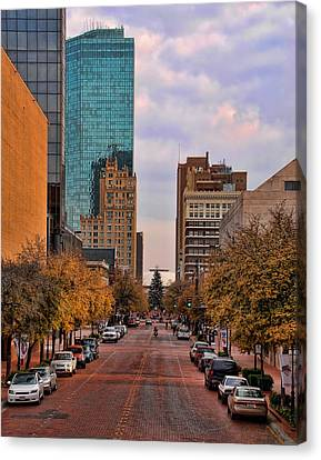 Downtown Fort Worth Texas  Canvas Print