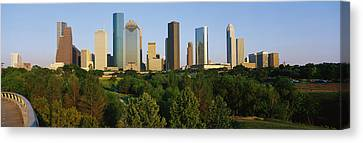Downtown Houston Canvas Print by Panoramic Images