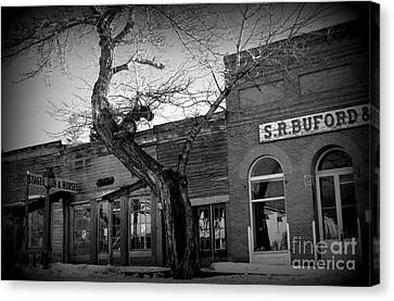 Canvas Print featuring the photograph Downtown by Janice Westerberg