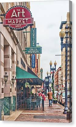 Downtown Knoxville Canvas Print