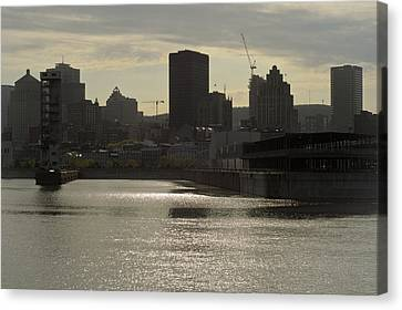 Downtown Montreal Canvas Print by Eric Soucy
