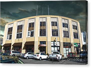 Downtown Pomona - 02 Canvas Print by Gregory Dyer