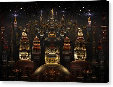 Downtown Venus Canvas Print
