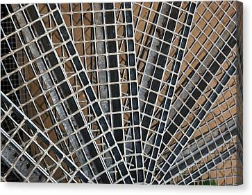 Canvas Print featuring the photograph Downward Spiral by Wendy Wilton