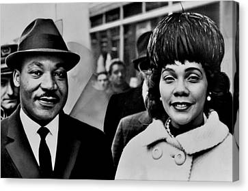 Dr And Mrs King Canvas Print by Benjamin Yeager