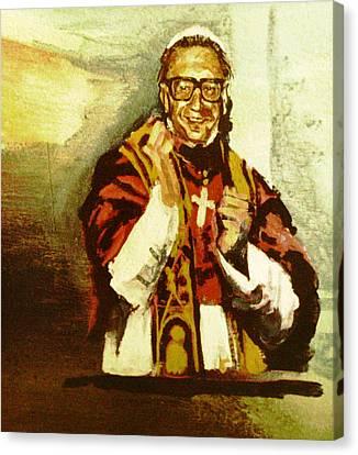 Dr. John M. Pope Canvas Print