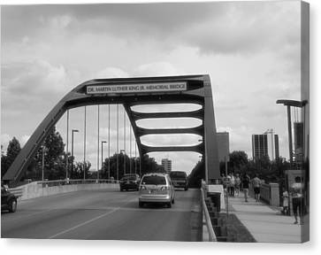 Dr. Martin Luther King Jr. Bridge Canvas Print by Dan Sproul