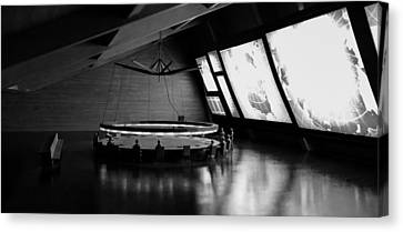 Canvas Print featuring the photograph Dr. Strangelove - Command Center by Michael Hope