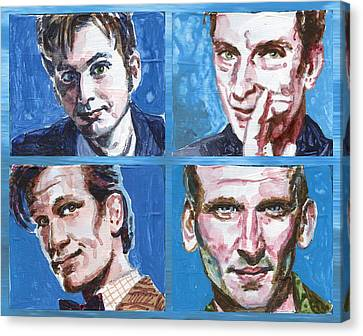Dr. Who Canvas Print by Ken Meyer