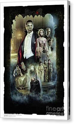 Dracula 1931 Canvas Print by Gerardo Moreno