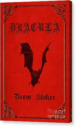 Dracula Book Cover Poster Art 1 Canvas Print by Nishanth Gopinathan
