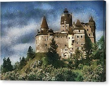 Dracula Castle Romania Canvas Print