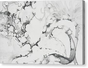 Dragon Dance Canvas Print by Claudia Smaletz