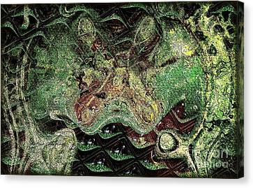 Canvas Print featuring the photograph Dragon Dream by Kathie Chicoine