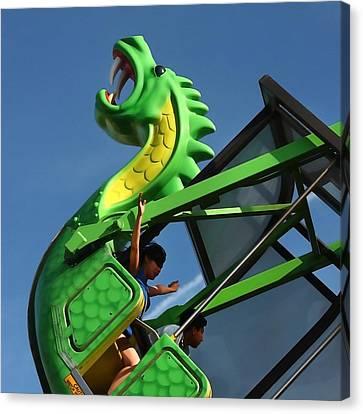 Dragon Ride Canvas Print