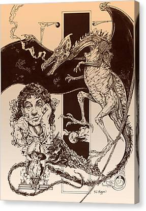 Dragon Smaug-tolkien Appreciation Canvas Print
