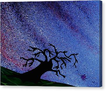 Dragon Tree Canvas Print by Winter Frieze
