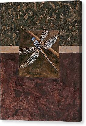 Dragonfly Canvas Print by Darice Machel McGuire