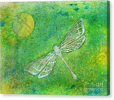 Dragonfly Canvas Print by Desiree Paquette