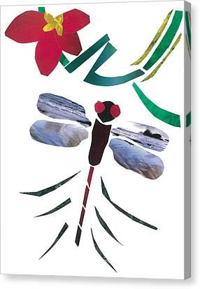Dragonfly Canvas Print by Earl ContehMorgan