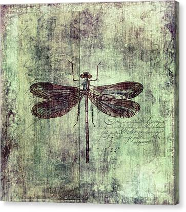 Dragonfly Canvas Print by Priska Wettstein