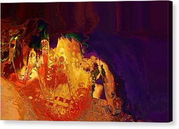 Dragon's Teeth Cave Canvas Print