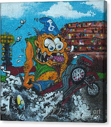 Dragster Fink Canvas Print by Thomas Luca