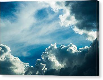 Drama In The Sky Canvas Print by Alexander Senin