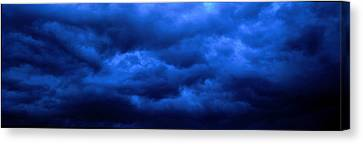 Dramatic Blue Clouds Canvas Print by Panoramic Images