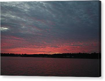 Dramatic Sunset Canvas Print by Ellen O'Reilly
