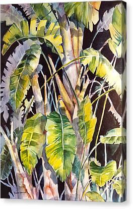 Dramatic Tropics Canvas Print