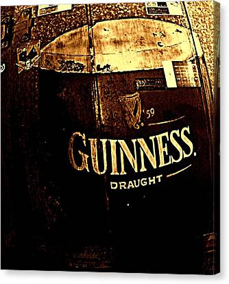Draught  Canvas Print