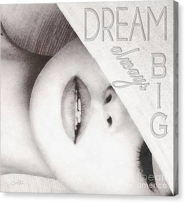 Relax Canvas Print - Dream Big by Mo T