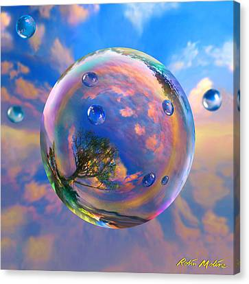 Dream Bubble Canvas Print by Robin Moline