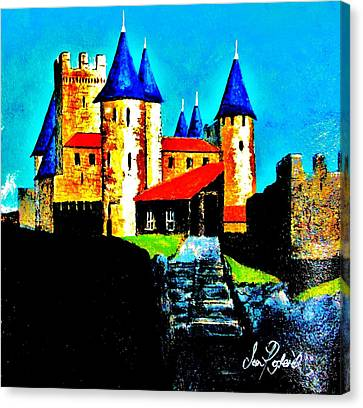 Dream Chateau Canvas Print by Sean Roderick