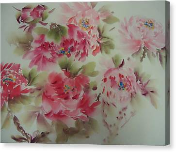 Dream Flower 0725-5 Canvas Print by Dongling Sun
