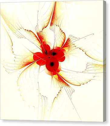 Dream Flower Canvas Print