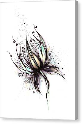Dream Flower Canvas Print by Andrea Carroll