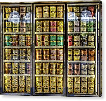 Chocolate Canvas Print - Dream Fridge by Scott Norris