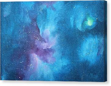 Dream Galaxy Canvas Print by Toni Yasger