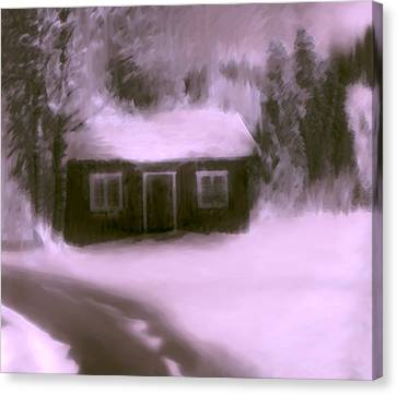 Dream House  C# 43 Canvas Print by Viggo Mortensen