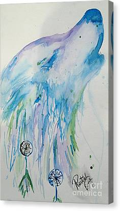 Dream Howl Canvas Print by Raitchele Cornett