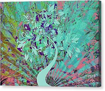 Dream In Color Canvas Print by Cindy McClung
